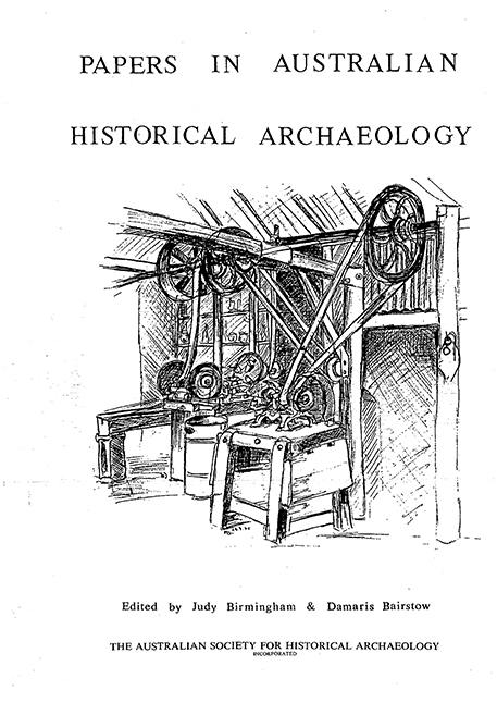 Papers in Historical Archaeology
