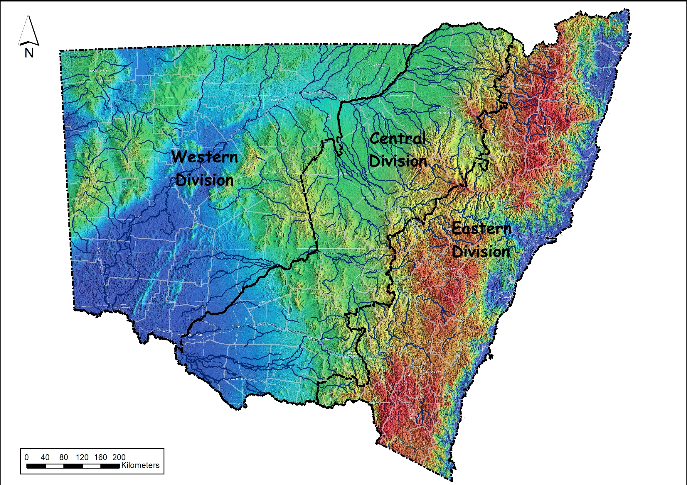 RESEARCH NEWS A map of the Land Divisions of New South Wales