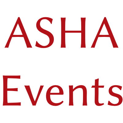 ASHA Events short