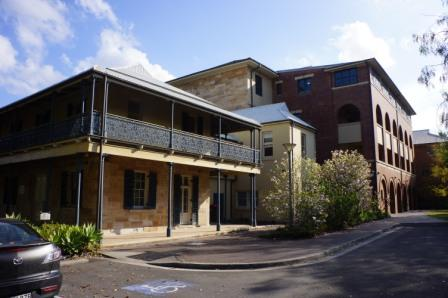 Rear view of the Former Kings School, Parramatta