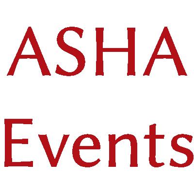 ASHA Events short